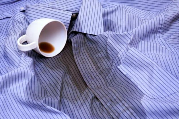 hvordan fjerne kaffeflekker