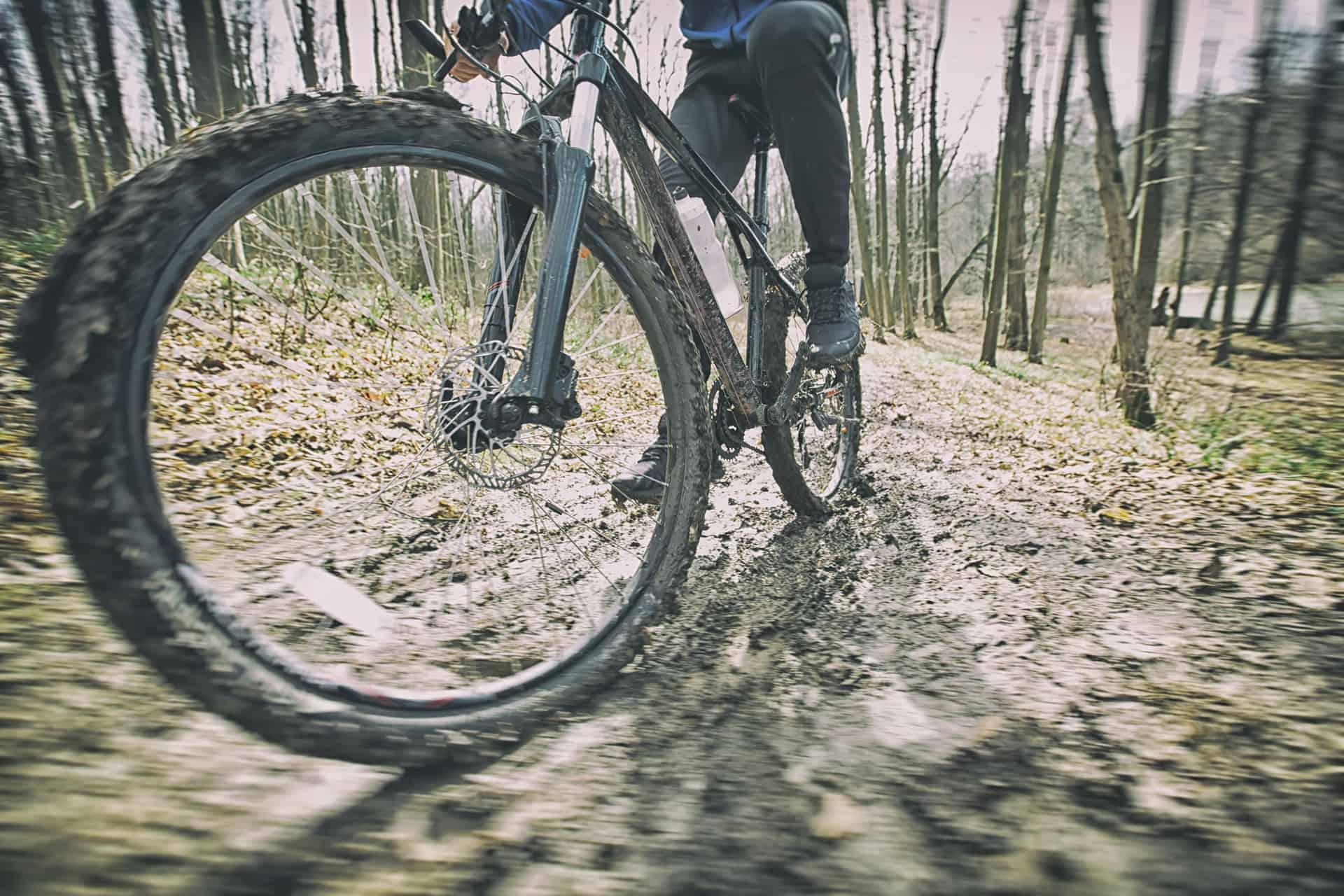 rengjøre sykkelen
