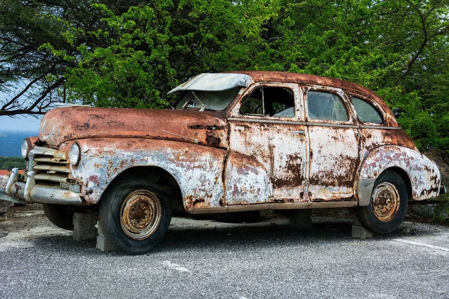 Forhindre rust på bilen