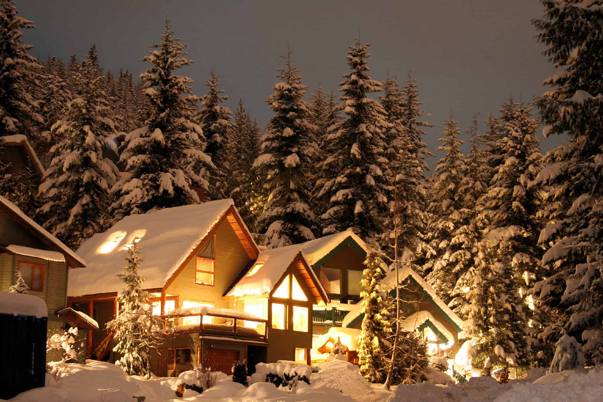 vinterforberedelser for hjemmet