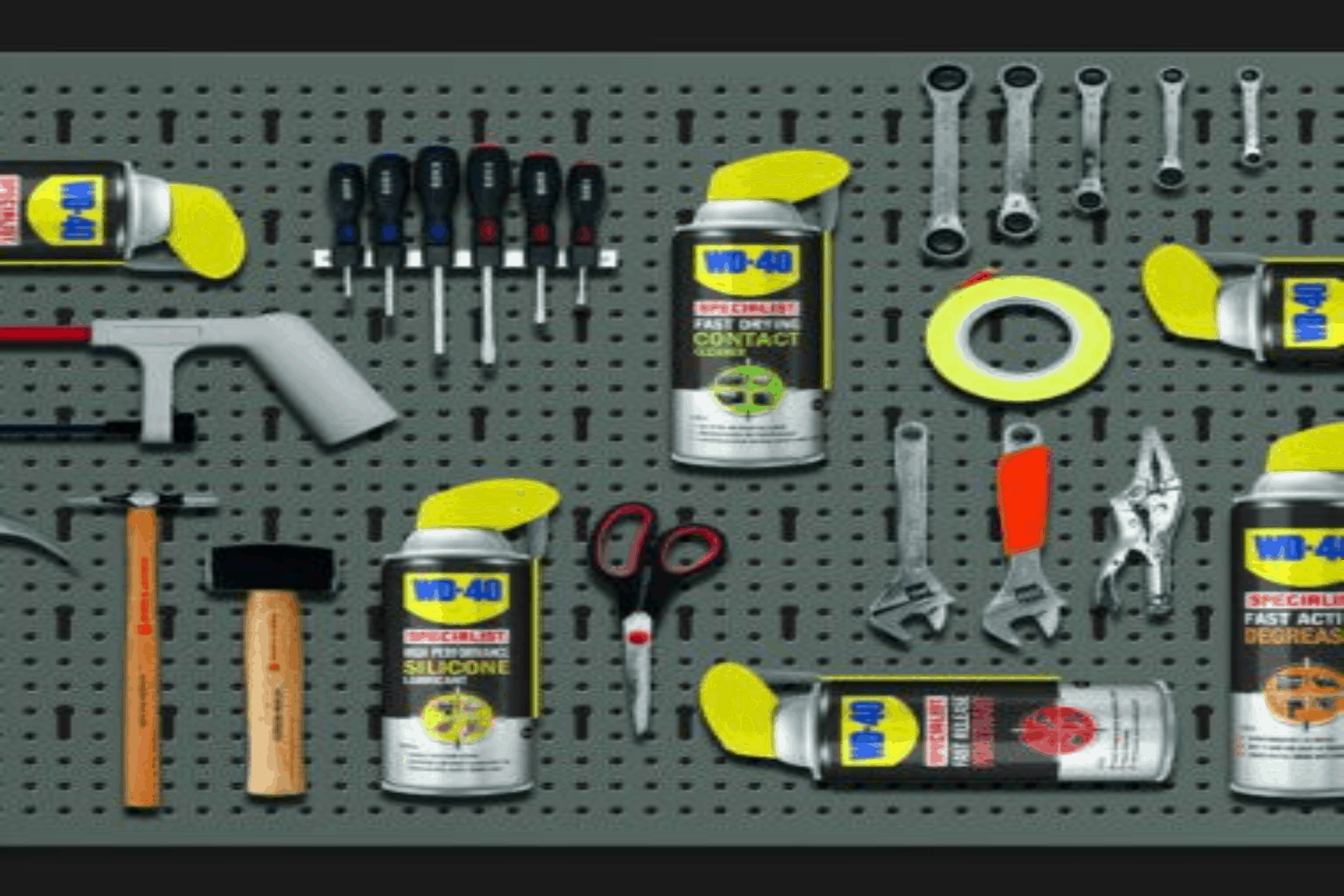 wd40 tool box