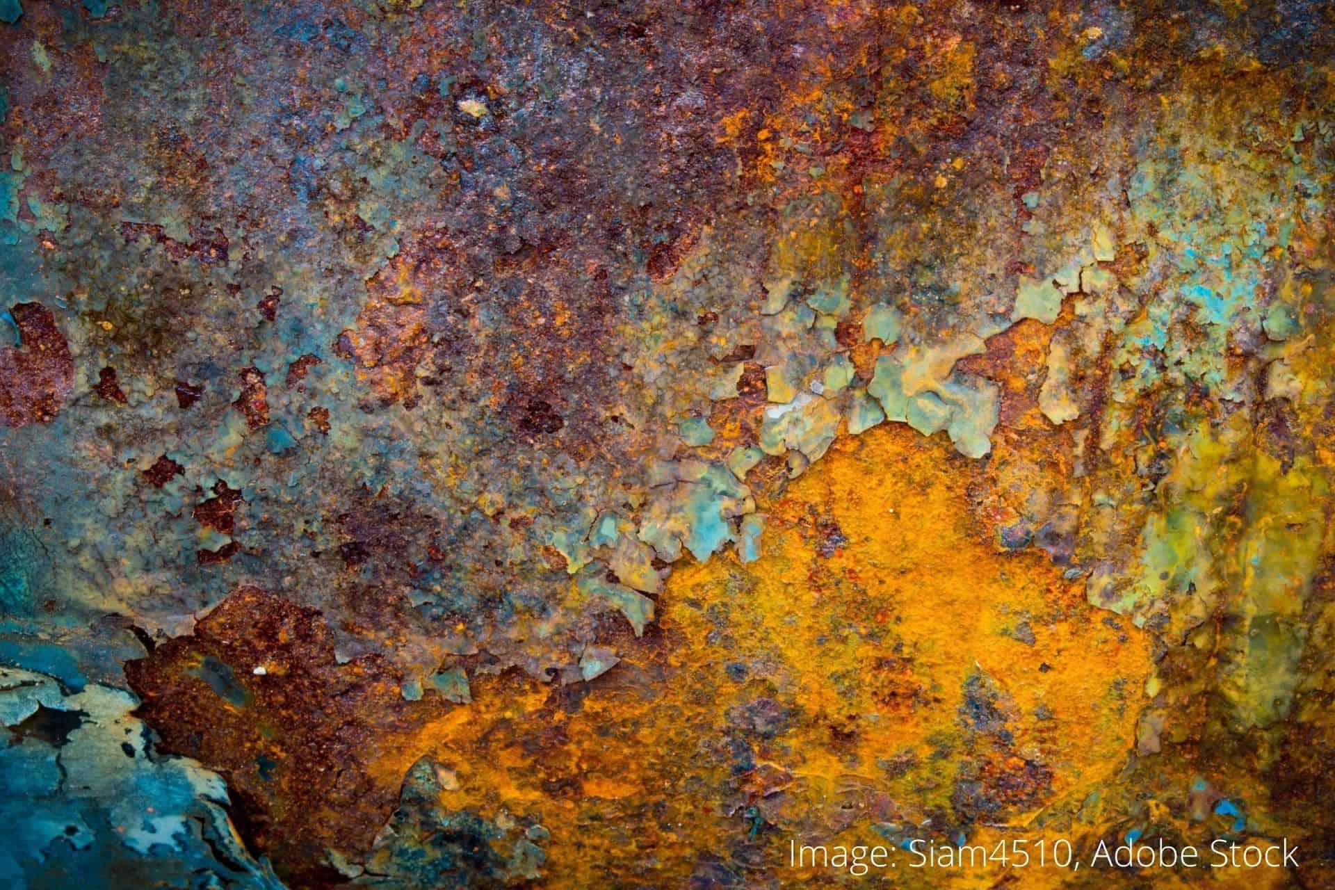 rustbeskyttende produkter, fjerne rust fra metall