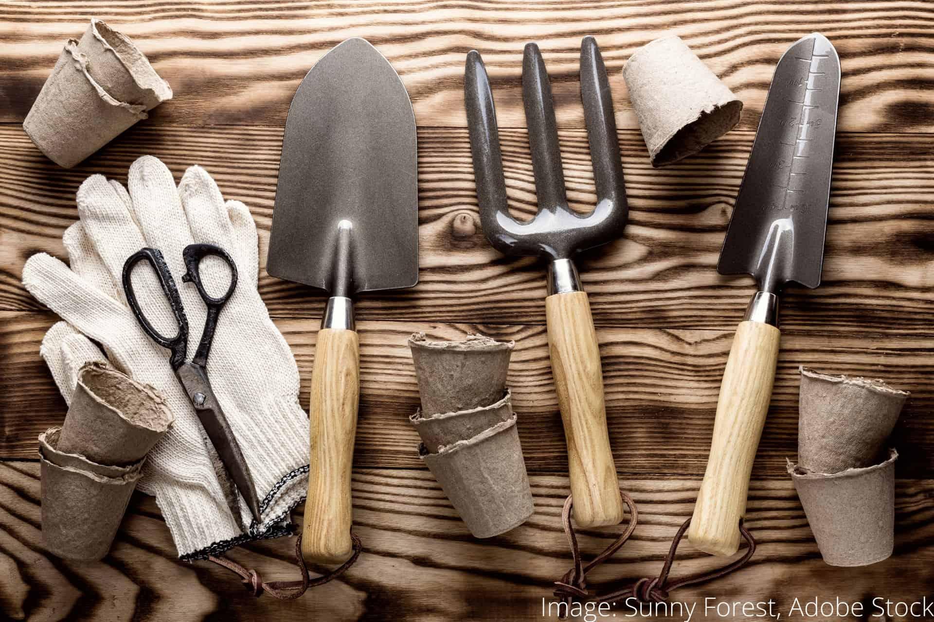 Hvordan rengjøre hageredskap