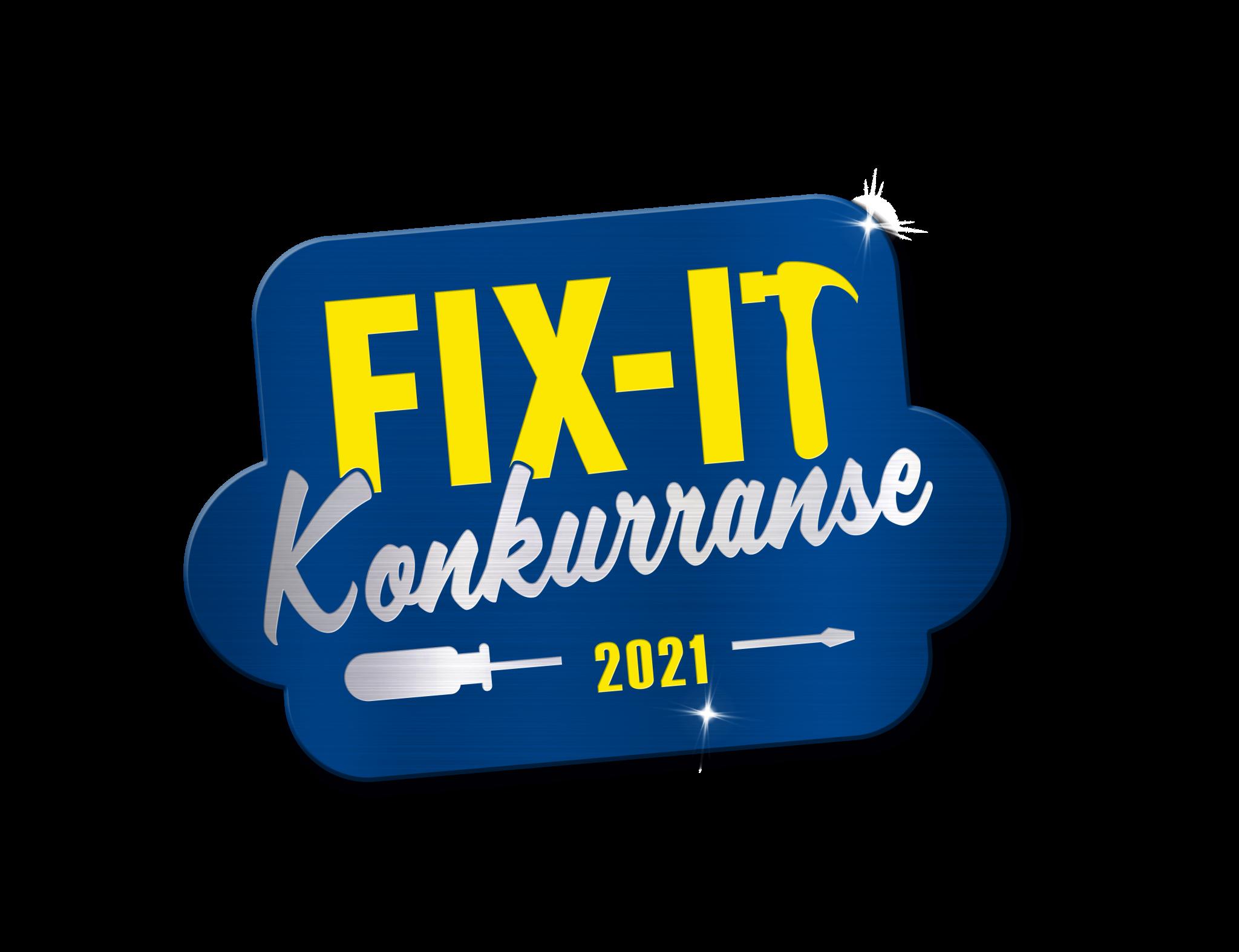 fix it logo no